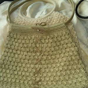Handbags - Bundle of four crochet no name Vintage purses.